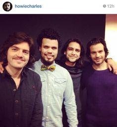 The lads via Howard's Instagram