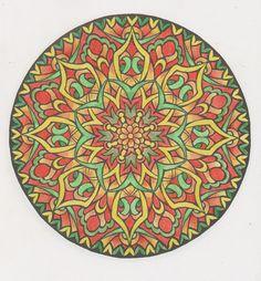 Mystical mandalas 21 done with pencils