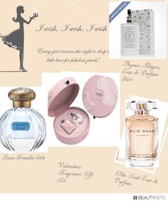 Beautysets - Four Fabulous Feminine Scents-click thru for pics and reviews