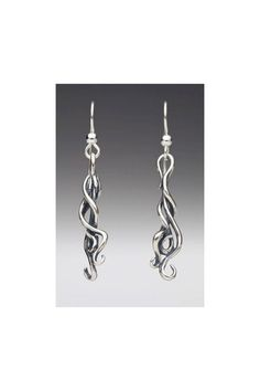 Spiro Drop Earrings by martymagic on Etsy, $80.00
