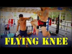 Learn how to throw a flying knee in your next Muay Thai fight or sparring session! There are a couple of ways to throw a flying knee with this being one of t...