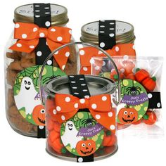 Personalized Creepy Halloween Favors or Gifts