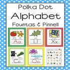 This bright and cheery polka dot alphabet pack is both eye grabbing and includes three sizes of alphabet reference.    Open the preview for a free ...