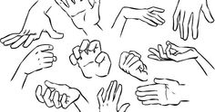 If you're as bad at drawing hands as I am, then you'll appreciate this!