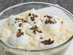 Vtáčie mlieko s čokoládou Mashed Potatoes, Smoothie, Pudding, Ethnic Recipes, Glass, Author, Drink, Deserts, Mascarpone