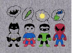 #Batman #Superman #GreenLantern ... The only low point? The addition of #Spiderman. Boo.