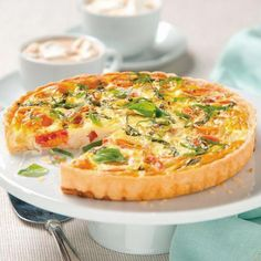 Crustless caprese quiche recipe quiches quiche recipes and crustless caprese quiche recipe food network kitchen food network foodnetwork forumfinder Gallery