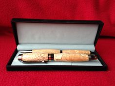 Wooden hand made Spalted Mottled Beech Classic by PhilsWoodTurning