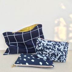 A new exclusive navy print collection of clutches, pouches and cases for Nothing But Navy. Available from 67 Redchurch St, London 20th-24th November https://www.facebook.com/nothingbutnavy/events