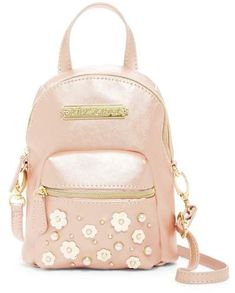 22d1d5da5d31 Beautiful pearl pink with pearl white flowers so gorgeous! Betsey Johnson  Imitation Pearl Flower Mini