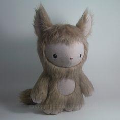 Freya, plush toy monster.