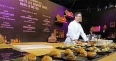 Nesta semana, três chefs de cozinha renomados usaram o metrô de Paris, na França, para ensinar dicas de culinária aos passageiros.