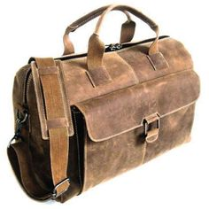 Arizona Rustic Buffalo Leather Hunter Camo Duffle Bag
