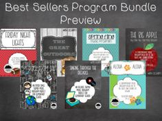 Save 25% by buying this Mega Bundle of music programs! Included are some of our most popular programs geared towards older elementary age students. Using much popular music these programs are perfect for the music teacher on the go! This bundle contains the following programs: