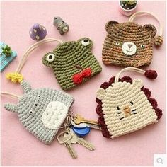 Buy 'Class 302 – Knitted Animal Key Holder' with Free International Shipping at YesStyle.com. Browse and shop for thousands of Asian fashion items from China and more!