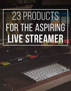 23 Things Every Twitch Streamer Needs. Good for also those in esports! Twitch Streaming Setup, Game Streaming, Video Game Rooms, Video Games, Game Tester Jobs, Fun Group Games, Test Video, Twitch Channel, Social Media Trends