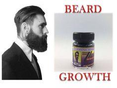 BEARD GROW NATURAL FACIAL HAIR GROWTH TREATMENT SERUM FAST MUSTACHE EYEBROW #BLACKPHOMTHONG