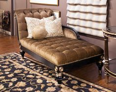 Brand New Marge Carson! A beautiful addition and piece to any home. #upscale #fancy #elegant #gold #lounge #livingroom #furniture