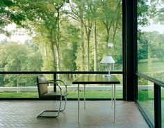 vdvintagedesign: Glass House, New Canaan, Connecticut, United States of America - Philip Johnson / Richard Foster (1949)