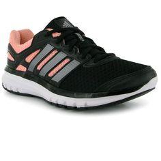 adidas Duramo 6 Ladies Running Shoes ❤ liked on Polyvore featuring shoes, athletic shoes, running shoes, athletic running shoes, adidas shoes, adidas and adidas footwear