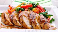 El Gourmet Urbano: Y para el almuerzo: Pechugas de pollo al vino tinto #Receta #imperdible
