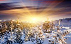 Winter sunrise via Smart Beautiful Pictures