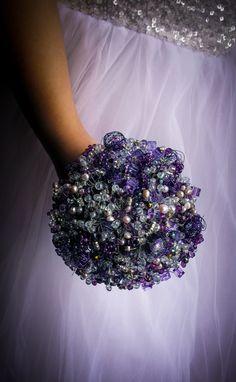 Mardi Gras Bouquet