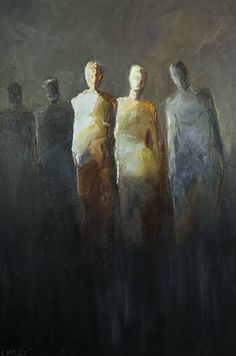 """""""The Only Two People"""" by Shelby McQuilkin abstract figurative, contemporary art, oil on canvas, art for sale, oil painting Painting People, Figure Painting, Oil Painting On Canvas, Painting & Drawing, Canvas Art, Oil Paintings, Couple Painting, Indian Paintings, Painting Lessons"""