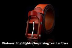 This week's round-up of our more popular Pinterest pins includes several how-to's from the past and present as well as some unexpected ways of using leather. Leather Jewelry Graphic des…