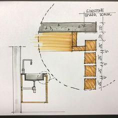 cricut home decor projects Bathroom Colors, Bathroom Sets, White Bathroom, Architecture Details, Interior Architecture, Joinery Details, Drawing Interior, Bathroom Interior, Planer