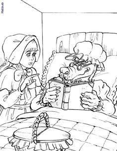frau holle märchen-malvorlage zum ausmalen | winter | pinterest | frau holle märchen