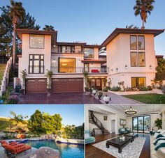 A lavishly remodeled ocean view Mediterranean dream home can be found @ 32410 Nautilus Dr, Rancho Palos Verdes 90275. If the 8 bedrooms, 6 full baths, 562 sqft guest tower aren't enough for you, enjoy the resort like backyard with pool & spa w/ a paradise rock waterfall or the breathtaking views from the grand balcony.