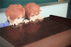 Kaoru & Hikaru - Hitachiin - Ouran cosplay - Mr Willie & KumaQi (4/4)