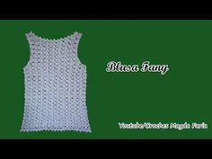 ❤ ❤ ❤ Blusa Fany💝 Croches Magda Faria💝#semprecírculo ❤ ❤ . ... ❤ #crochemagdafaria ❤ ❤ . .. - YouTube Crochet Bra, Crochet Blouse, Crochet Clothes, Girls Vest Tops, Crochet Summer Tops, Free Pattern, Diy And Crafts, Crochet Patterns, Dina