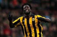 Wilfried Bony in a switch from Vitesse Arnhem to Swansea City. The Ivory Coast striker scored 31 times in the Dutch Eredivisie last season. Soccer Players, Football Soccer, Wilfried Bony, Football Transfers, Transfer Rumours, Transfer Window, Transfer News, Swansea, Ivory Coast