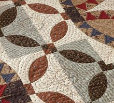 Feather Quilting Designs ~ Follow the Curves