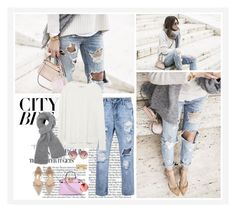 """City Break"" by angiegdurant ❤ liked on Polyvore featuring Jimmy Choo, Fendi, Zara, Chloé, Charlotte Russe and River Island"