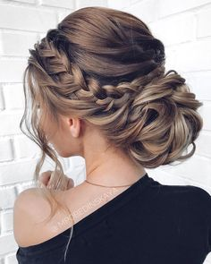 Long updos wedding hairstyles from mpobedinskaya .- Lange Hochsteckfrisuren Hochzeit Frisuren von mpobedinskaya – Beauty New Long Updo Wedding Hairstyles by mpobedinskaya … - Long Bob Hairstyles, Wedding Hairstyles For Long Hair, Wedding Hair And Makeup, Updos For Wedding, Hair Styles For Wedding, Updos For Brides, Updo For Long Hair, Hair For Prom, Wedding Hair Down