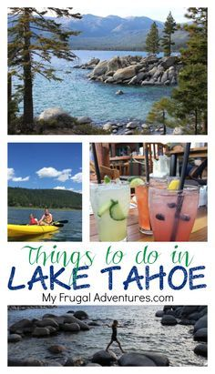 Summer Travel to Lake Tahoe {With Kids} – My Frugal Adventures Fun family activities and restaurants to check out in Lake Tahoe! Not just a ski destination, this is a beautiful vacation spot in summer as well! Lake Tahoe Summer, Lake Tahoe Vacation, Family Vacation Destinations, Vacation Trips, Family Vacations, Family Travel, Summer Vacations, Travel Destinations, Cruise Vacation