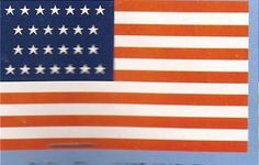 US 26 Star Flag (1837)-(1845) by Wizzards Realm. $6.99. US 26 Star Flag (1837)-(1845). US 26 Star Flag (1837)-(1845) 3'x5' Super-Polyester Canvas Header Brass Gromments 4 Rows Of Sewing On Fly Side Made In The U.S.A. Indoor Or Outdoor USE Ready to Hang