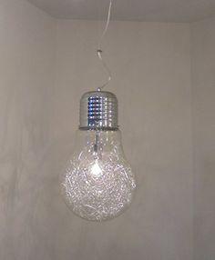 Sospensione Lampadario moderno cromo lucido a forma di la…