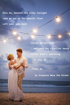 Kiss me by Sixpence None the Richer #Lyrics from one of my fave songs :)