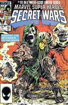 Marvel Super Heroes Secret Wars #10 1984