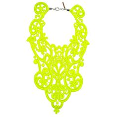 COCONUT LACE: Neon...Yes Please...
