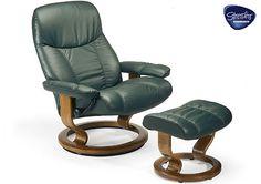 Ekornes Stressless Chair, Beyond comfort in XL