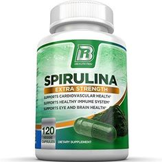The superfood spirulina not only brings you vitamins such as and but also amino acids and phytonutrients such as phycocyanin. It's brimming with antioxidants and has been linked to increased energy and improved immune response. What Is Spirulina, Green Grapes Nutrition, Superfood Powder, Spirulina Powder, Rich In Protein, How To Increase Energy, Healthy Life, Strength, Veggies