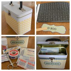 Organizing using little metal boxes in your #dorm room