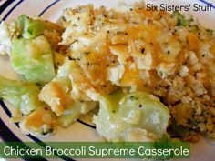 Chicken Broccoli Supreme Casserole