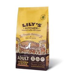 Lily's Kitchen Chicken and Duck Dry Dog Food (1Kg) * Learn more by visiting the image link. (This is an affiliate link and I receive a commission for the sales) #Doggies