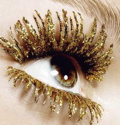 My eyes are even dripping in gold! #goldgame